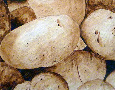 Painting - Spuds by Linda Pope
