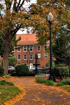 Photograph - Square In Lisbon Ohio by Michelle Joseph-Long