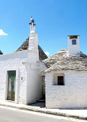 Photograph - Square Trulli by Carla Parris
