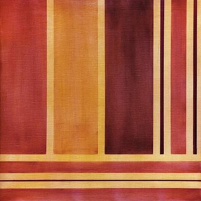 Square With Lines 2 Art Print by Hakon Soreide