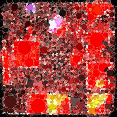 Squares Within A Square Version Two Original by Richard  Montemurro