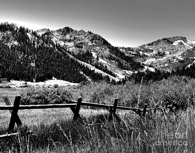 Photograph - Squaw Valley At Lake Tahoe by Anne Raczkowski