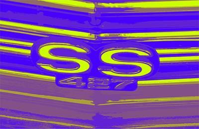 Ss 427 Super Sport Art Print by Chuck Re