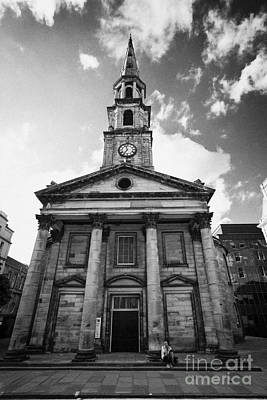 St Andrew And Saint George Church George Street Edinburgh Scotland Uk United Kingdom Art Print by Joe Fox