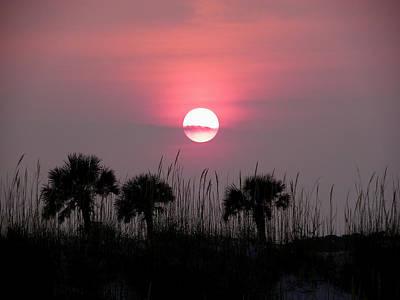 Photograph - St. Augustine Sunset by Judy Wanamaker