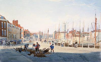 St Augustines Parade, Bristol, England Art Print by Photos.com