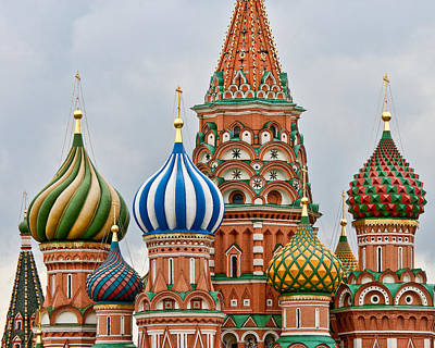 Photograph - St. Basil's Cathedral by Ray Kent