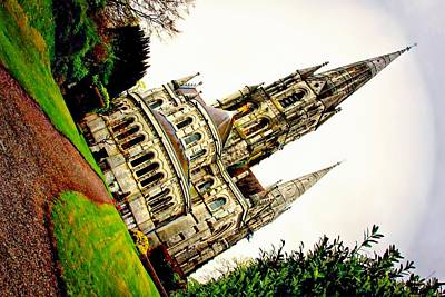 Digital Art - St. Fin Barre's Cathedral Cork Ireland by Carrie OBrien Sibley