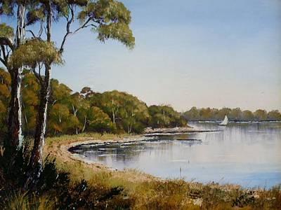 St Georges Basin - Early Morning Art Print