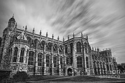 Photograph - St George's Chapel - Windsor  by Yhun Suarez