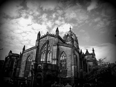 Photograph - St Giles Cathedral Edinburgh by Ian Kowalski