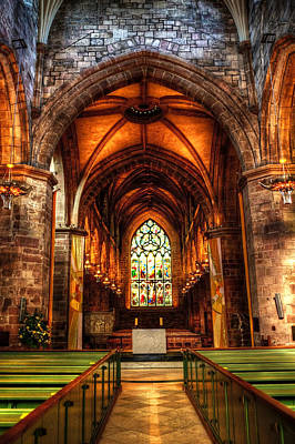 St Giles Cathedral Art Print