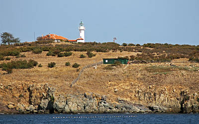 Photograph - St Ivan Island Lighthouse by Tony Murtagh