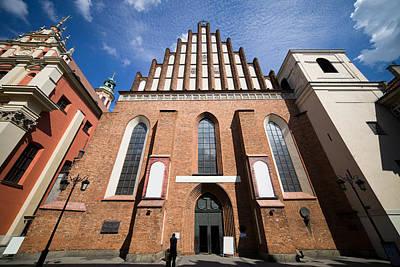 St. John Archcathedral In Warsaw Art Print by Artur Bogacki