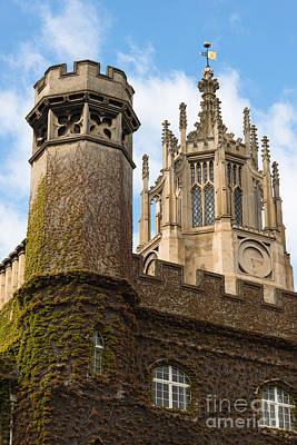 Cambridge Photograph - St Johns Ivy by Andrew  Michael