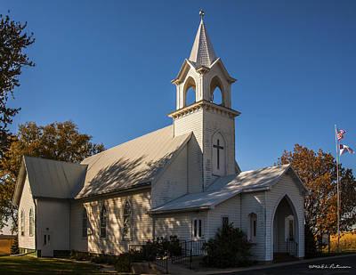 Photograph - St. John's Lutheran Church by Edward Peterson