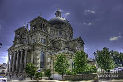 Photograph - St Josaphat Dome by David Bearden
