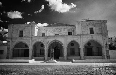 St Josephs Convent And Catholic Church St Joseph De L Apparition Larnaca Republic Cyprus Art Print by Joe Fox