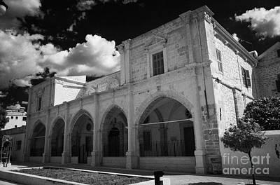St Josephs Convent And Catholic Church St Joseph De L Apparition Larnaca Republic Of Cyprus Print by Joe Fox