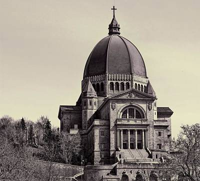 Photograph - St. Joseph's Oratory by Robert Knight