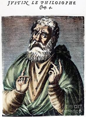 St. Justin (c100-c165) Art Print by Granger