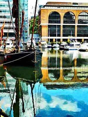 Kids Alphabet - St Katharine Docks in London by Steve Taylor