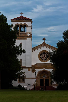 Photograph - St. Leo Abbey by Ed Gleichman