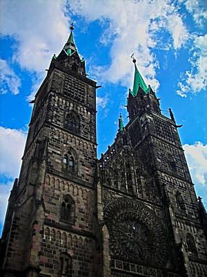 Allemagne Photograph - St. Lorenz Church - Nuremberg by Juergen Weiss