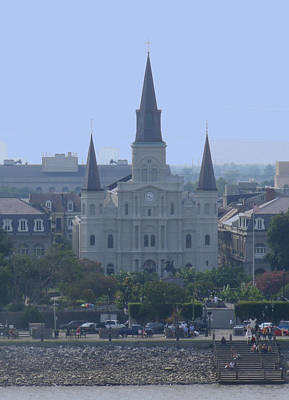 Photograph - St. Louis Cathedral by Diane Ferguson