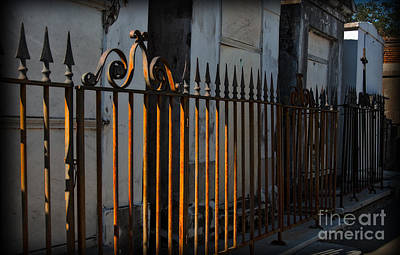 New Orleans Cemeteries Digital Art - St Louis One Gates In New Orleans by Kathleen K Parker
