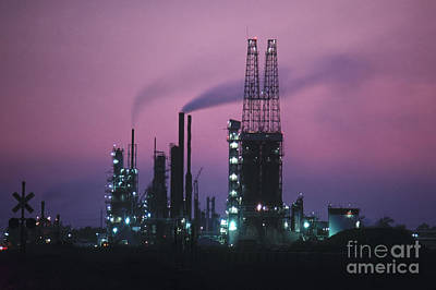 Photograph - St. Louis: Refinery by Granger