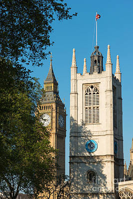 St Margarets Church Westminster  Art Print by Andrew  Michael