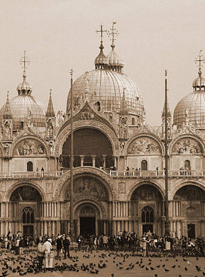 Photograph - St. Mark's Basilica by Donna Corless