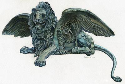 St. Mark's Lion Art Print by Francesca Zambon