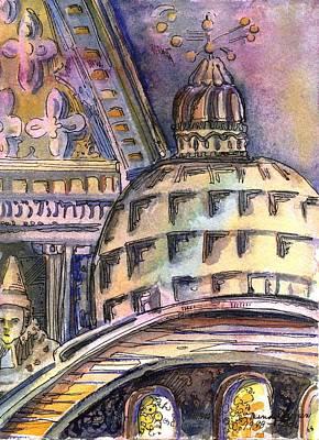 St Marks Of Venice Art Print