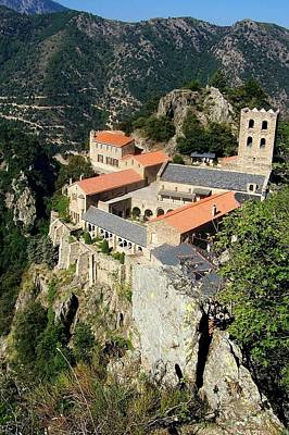St Martin Du Canigou Abbey France Art Print