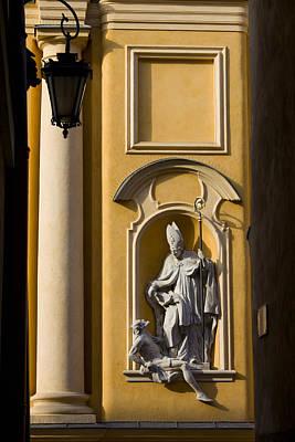 St Martin's Church Architectural Details Print by Artur Bogacki