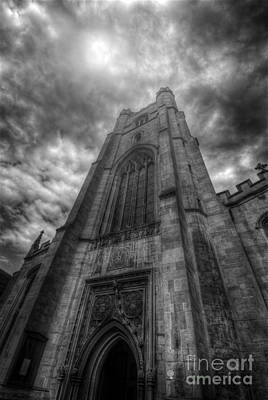 Photograph - St Mary The Great Church Tower - Cambridge by Yhun Suarez