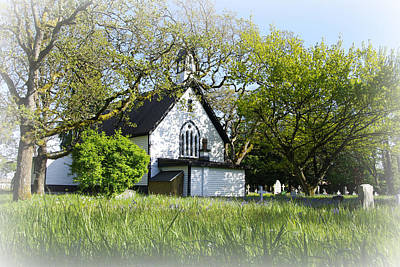 Photograph - St. Mary The Virgin Anglican Church by Marilyn Wilson