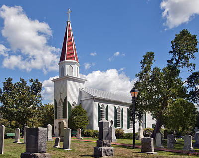 Photograph - St Marys Catholic Church Dhfx001 by Gerry Gantt