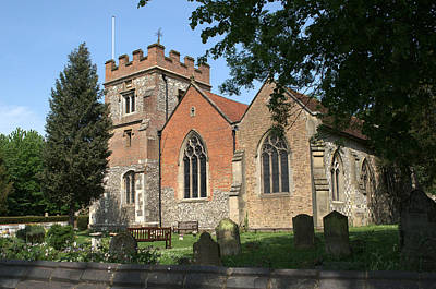 Photograph - St Marys Harefield by Chris Day