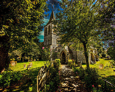 St Nicolas Church Art Print by Chris Lord