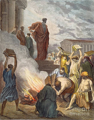 St. Paul At Ephesus Art Print