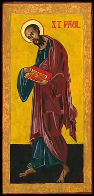 Wall Art - Painting - St Paul by Jennifer Richard-Morrow