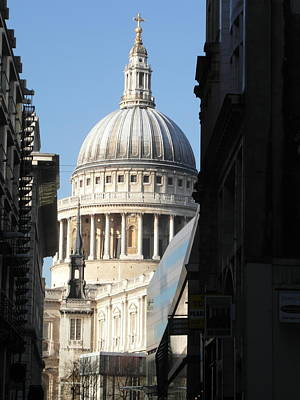 St Pauls Cathedral - London Art Print by Dickon Thompson