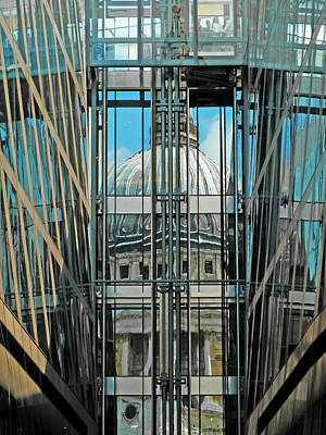 St Pauls Compressed Art Print