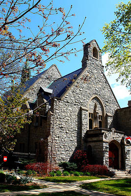 Photograph - St. Paul's Episcopal Church 4 by Scott Hovind
