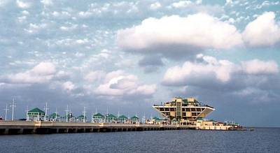 Photograph - St Pete Pier by Lynnette Johns