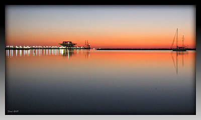 St. Pete Sunrise Art Print