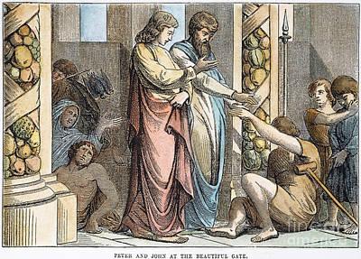 St Peter & St John Art Print by Granger